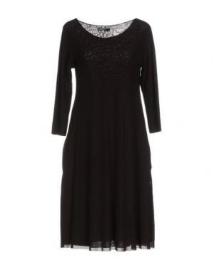 Короткое платье ALMERIA. Цвет: баклажанный
