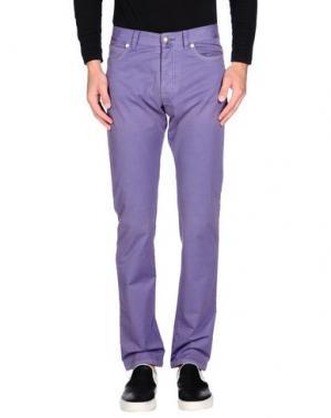 Повседневные брюки HISTORIC RESEARCH. Цвет: фиолетовый