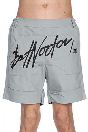 Шорты  Unisex Basic Shorts Grey Bat Norton. Цвет: серый