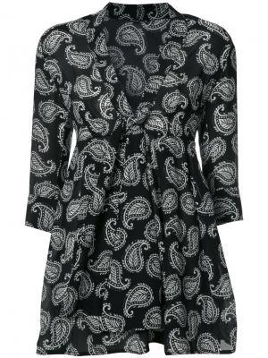 Мини-платье Yoko Dodo Bar Or. Цвет: чёрный