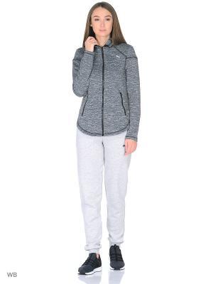 Толстовка Nocturnal Winter Jacket PUMA. Цвет: темно-серый