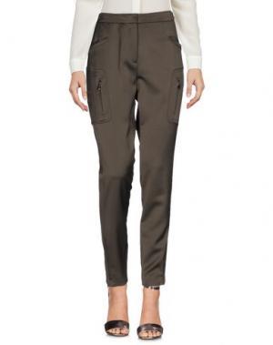 Повседневные брюки FABERGE&ROCHES. Цвет: зеленый-милитари