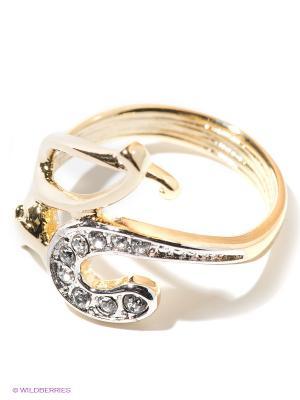 Кольцо Jenavi. Цвет: золотистый