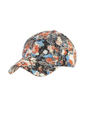 Бейсболка Migura. Цвет: черный, синий, оранжевый