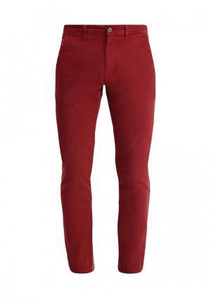 Чиносы Pepe Jeans. Цвет: бордовый