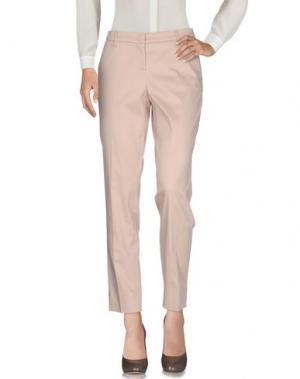 Повседневные брюки SEDUCTIVE. Цвет: песочный