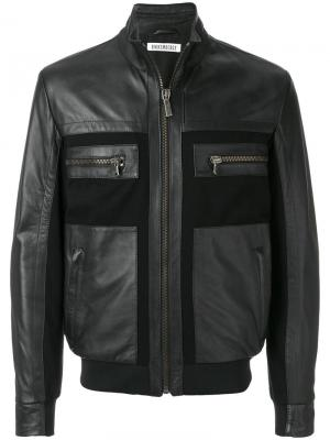 Куртка с панельным дизайном Dirk Bikkembergs. Цвет: чёрный