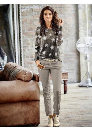 Пуловер Rick Cardona. Цвет: серебристо-серый, серый