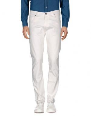 Повседневные брюки NEW ENGLAND. Цвет: белый