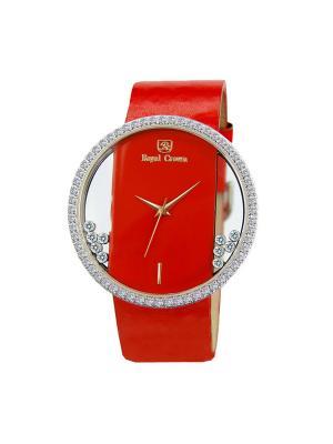 Часы Royal Crown. Цвет: красный