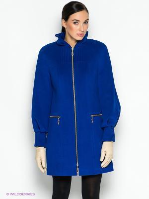 Пальто Malinardi. Цвет: синий