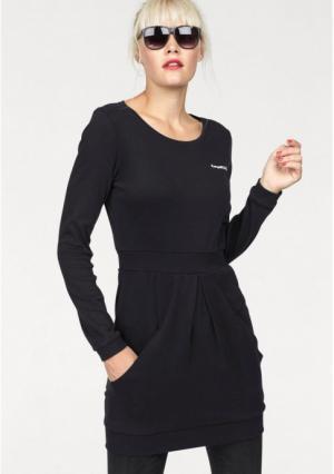 Платье мини Kangaroos. Цвет: черный