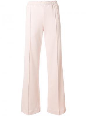Спортивные брюки с лампасами Dondup. Цвет: розовый и фиолетовый