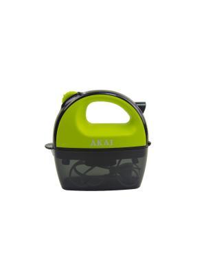 Миксер Электрический. 2 набора насадок AKAI. Цвет: зеленый