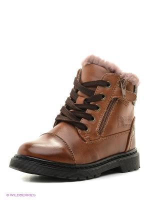 Ботинки San Marko. Цвет: светло-коричневый