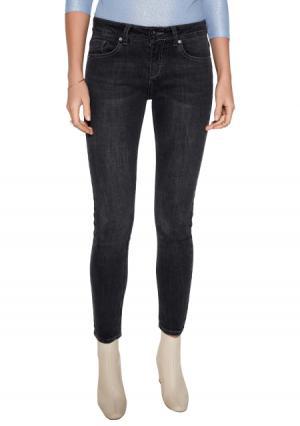 Брюки джинсовые Concept Club. Цвет: серый