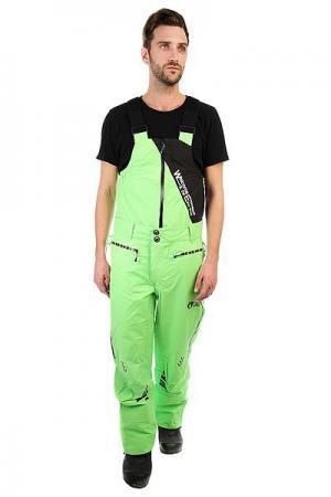 Комбинезон сноубордический  Welcom Bib Green Picture Organic. Цвет: зеленый