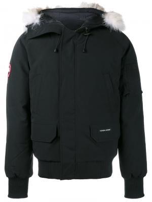 Куртка-бомбер Chilliwack Canada Goose. Цвет: чёрный
