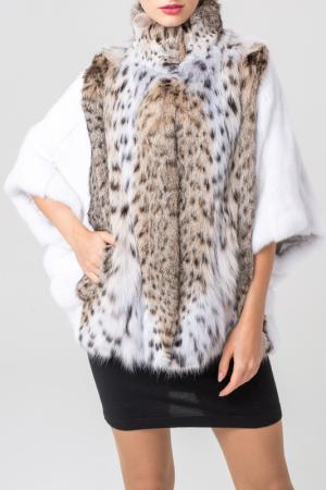 Шуба PT Quality Furs. Цвет: белый