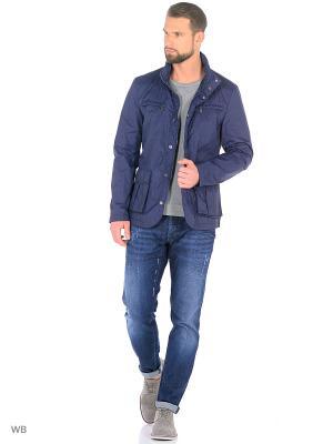 Куртка Trussardi. Цвет: голубой