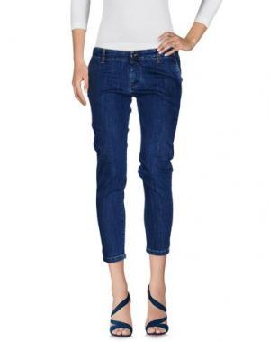 Джинсовые брюки COLMAR. Цвет: синий