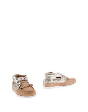 Полусапоги и высокие ботинки DOLFIE. Цвет: песочный