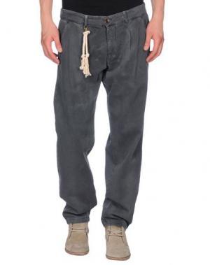 Джинсовые брюки BASICON. Цвет: свинцово-серый