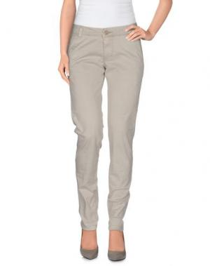 Повседневные брюки BOMBOOGIE. Цвет: светло-серый