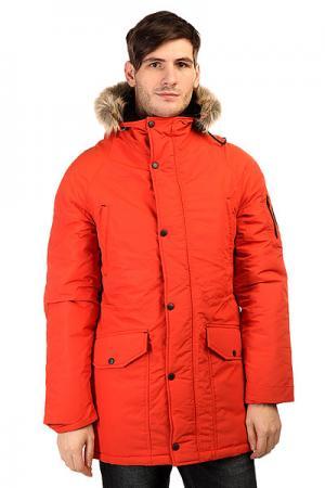 Куртка парка  Alaska Terrakot Anteater. Цвет: оранжевый