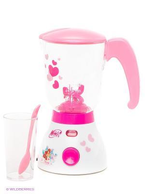 Блендер Winx Играем вместе. Цвет: розовый, белый, малиновый