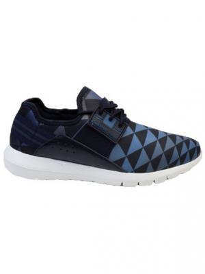 Кроссовки BASS3D. Цвет: синий