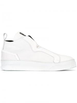 Slip-on sneakers Bruno Bordese. Цвет: белый