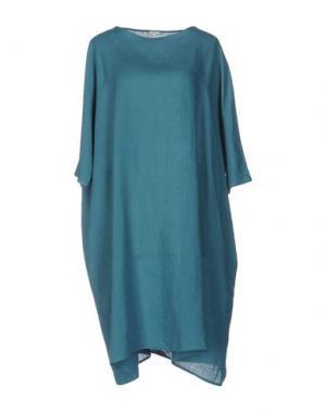 Платье до колена A.B APUNTOB. Цвет: цвет морской волны