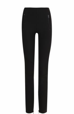 Однотонные брюки-скинни Rag&Bone. Цвет: черный