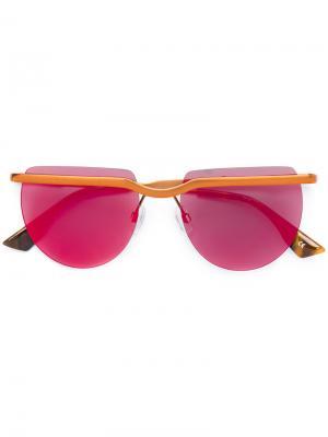 Солнцезащитные очки Mafia Moderne Le Specs. Цвет: металлический