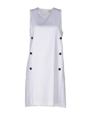 Короткое платье EDUN. Цвет: белый