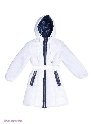 Пальто MES AMI. Цвет: белый