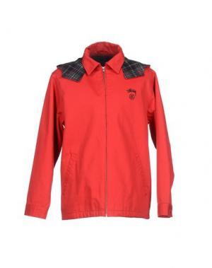 Куртка MNML COUTURE. Цвет: красный