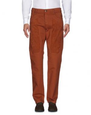 Повседневные брюки JECKERSON. Цвет: коричневый