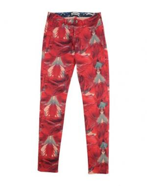 Повседневные брюки SCOTCH R'BELLE. Цвет: красный