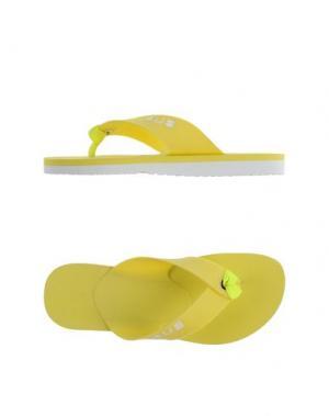 Вьетнамки CESARE PACIOTTI 4US. Цвет: желтый