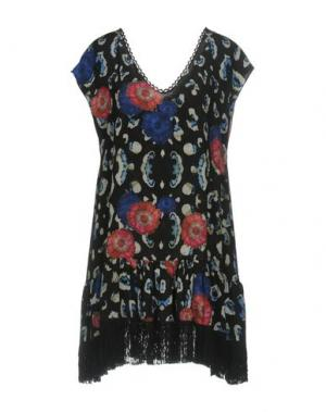 Короткое платье ATHENA PROCOPIOU. Цвет: черный
