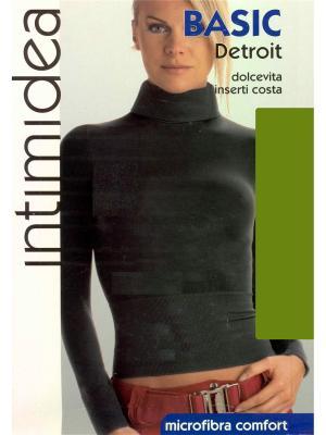 Водолазка Intimidea. Цвет: зеленый