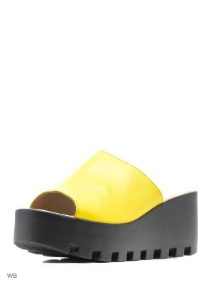 Сабо Spur. Цвет: желтый