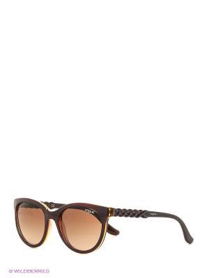 Очки солнцезащитные 0VO2915S-228713 Vogue. Цвет: бордовый