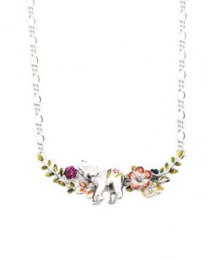 Ожерелье BILL SKINNER. Цвет: серебристый