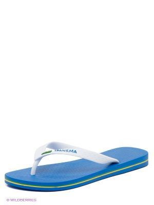 Пантолеты Ipanema. Цвет: синий, белый