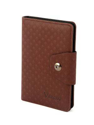 Ежедневник VIRON. Цвет: коричневый