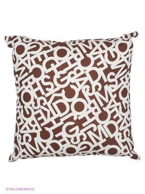 Подушка Alba Venge T&I. Цвет: коричневый, бежевый