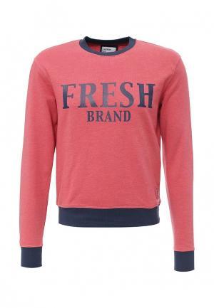 Свитшот Fresh Brand. Цвет: розовый
